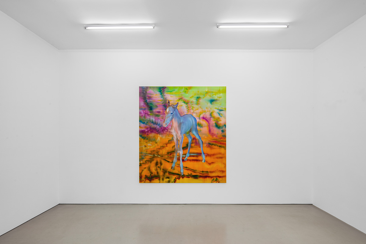 Rute Merk, Solitaire, solo exhibition at Gallery Vacancy, installation view 2