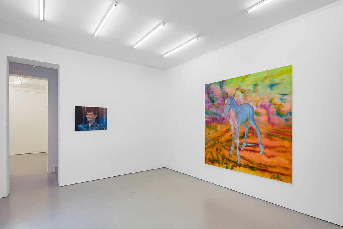 Rute Merk, Solitaire, solo exhibition at Gallery Vacancy, installation view 3