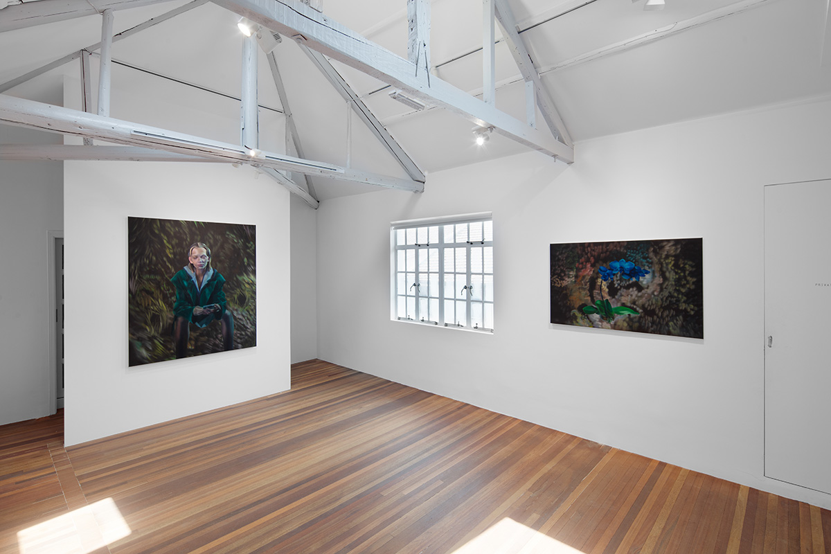 Rute Merk, Solitaire, solo exhibition at Gallery Vacancy, installation view 26