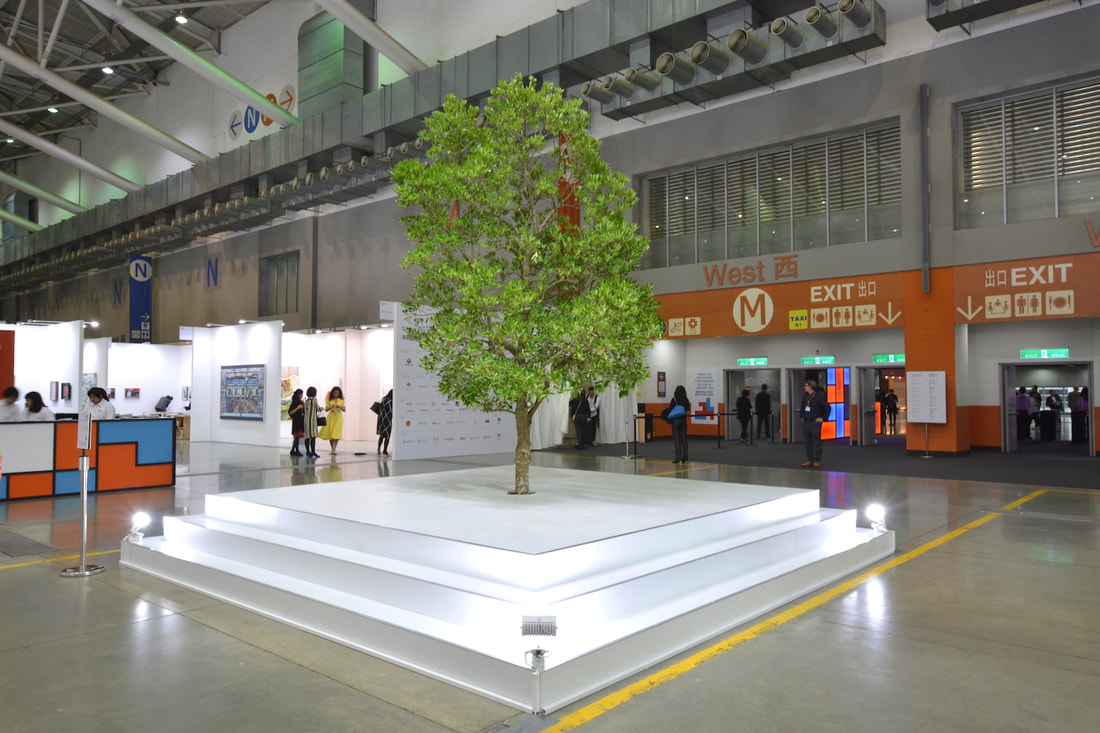 John Yuyi, I Tree to Call You, Gallery Vacancy at Taipei Dangdai, installation view, 2019