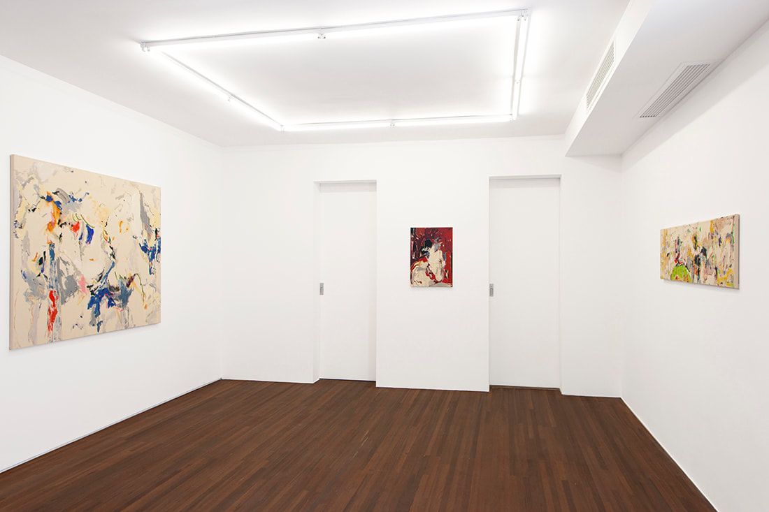 Shen Han, Intimate Morphology, installation views, Gallery Vacancy